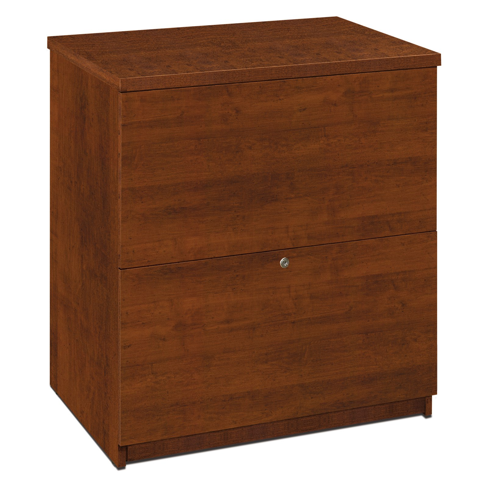 Bestar 2 Drawer Lateral Wood Filing Cabinet, Brown by Bestar