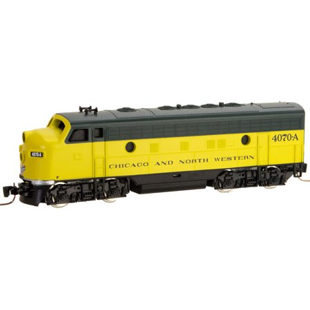 Micro-Trains MTL Z-Scale EMD F7A Diesel Loco - Chicago North Western CNW #4070-A