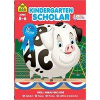 Kindergarten Scholar Workbook: Ages 5-6