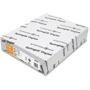 Springhill, SGH056100, Digital Index 90 lb. Multipurpose Paper, 250 / Pack, Ivory