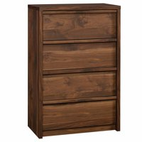 Pemberly Row 4 Drawer Chest in Grand Walnut