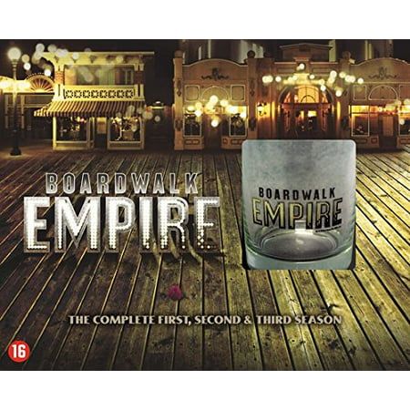 Boardwalk Empire (Complete Seasons 1-3) - 15-DVD Box Set & Collector Whiskey Glass ( Board walk Empire - Seasons One, Two & Three (36 Episodes) ) [ NON-USA FORMAT, PAL, Reg.2 Import - (Best Boardwalk Empire Episodes)