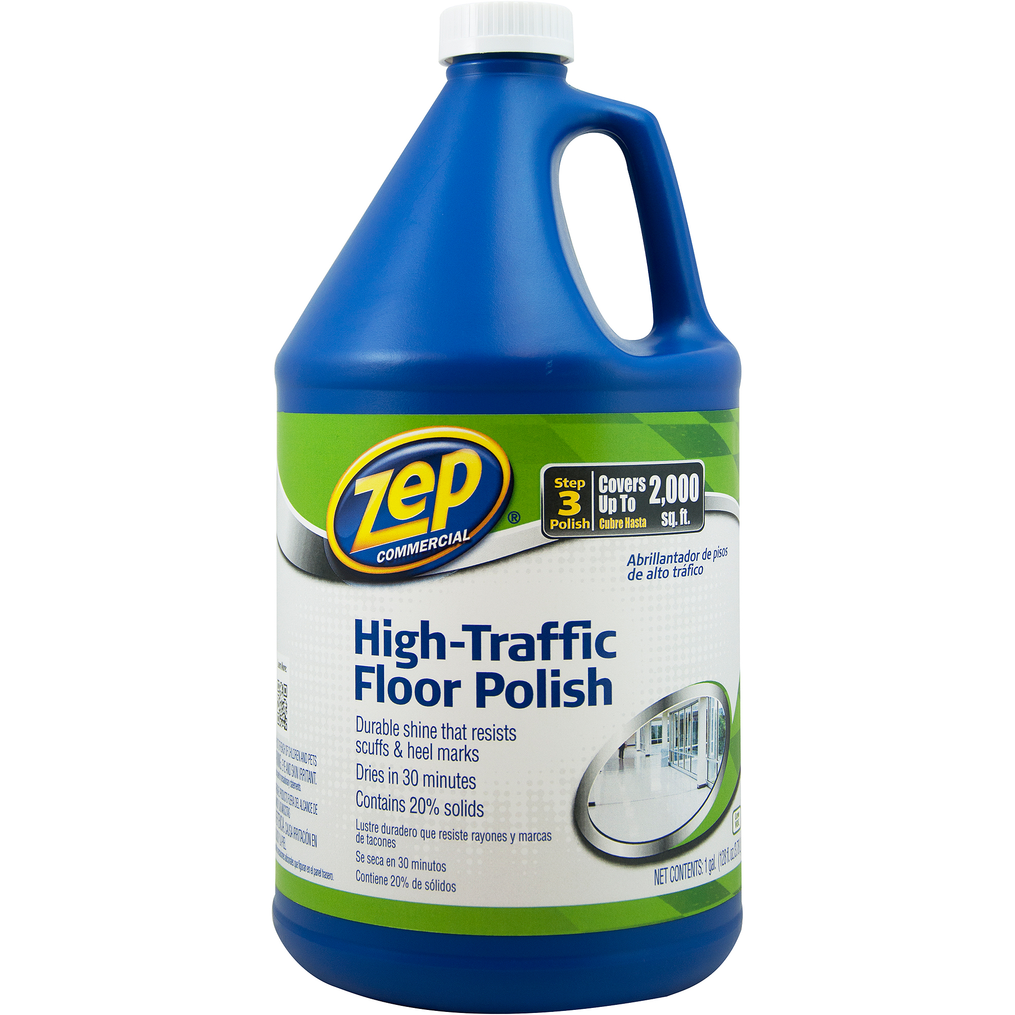 Zep Commercial High-Traffic Floor Finish, 1 gal