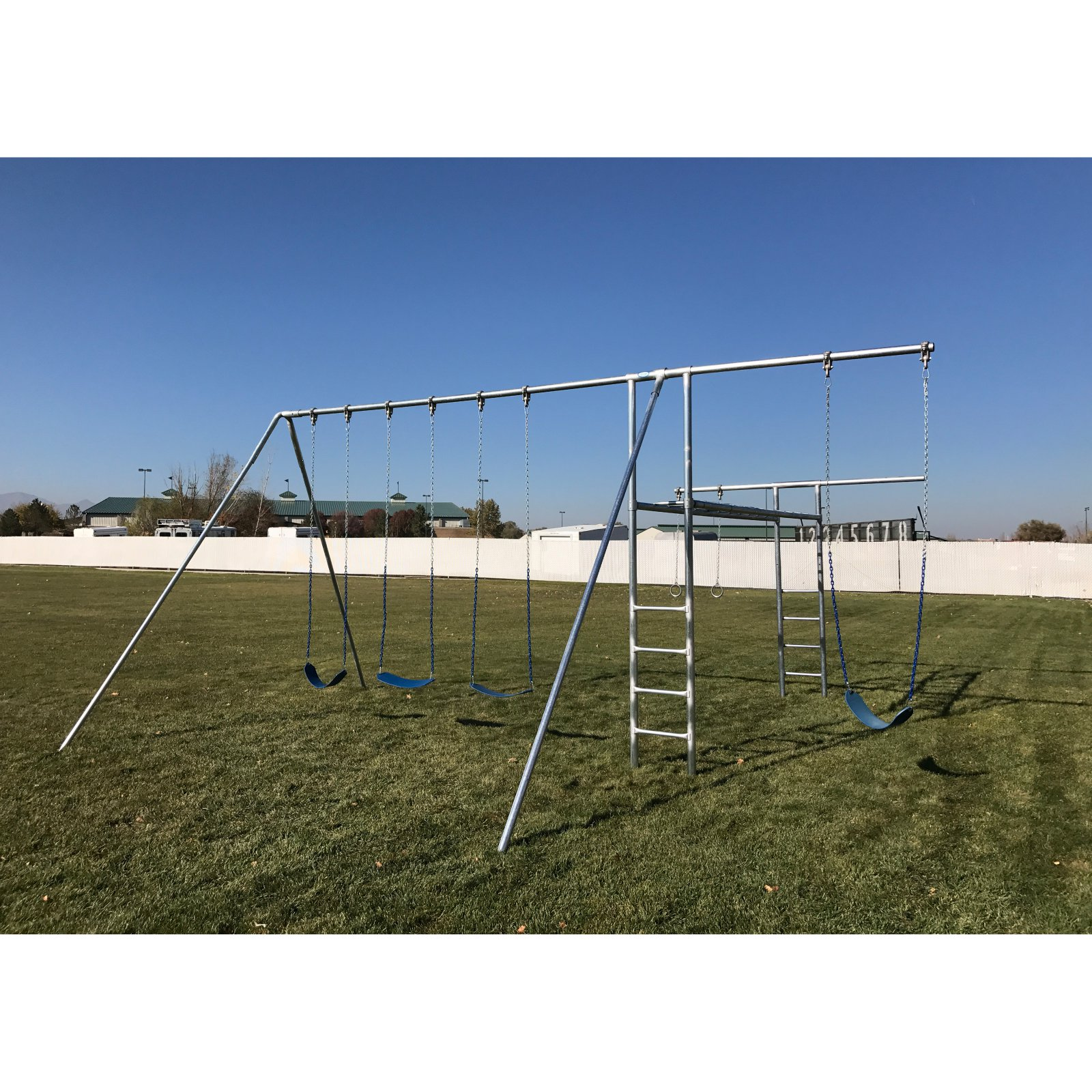 Component Playgrounds Abby Metal Swing Set