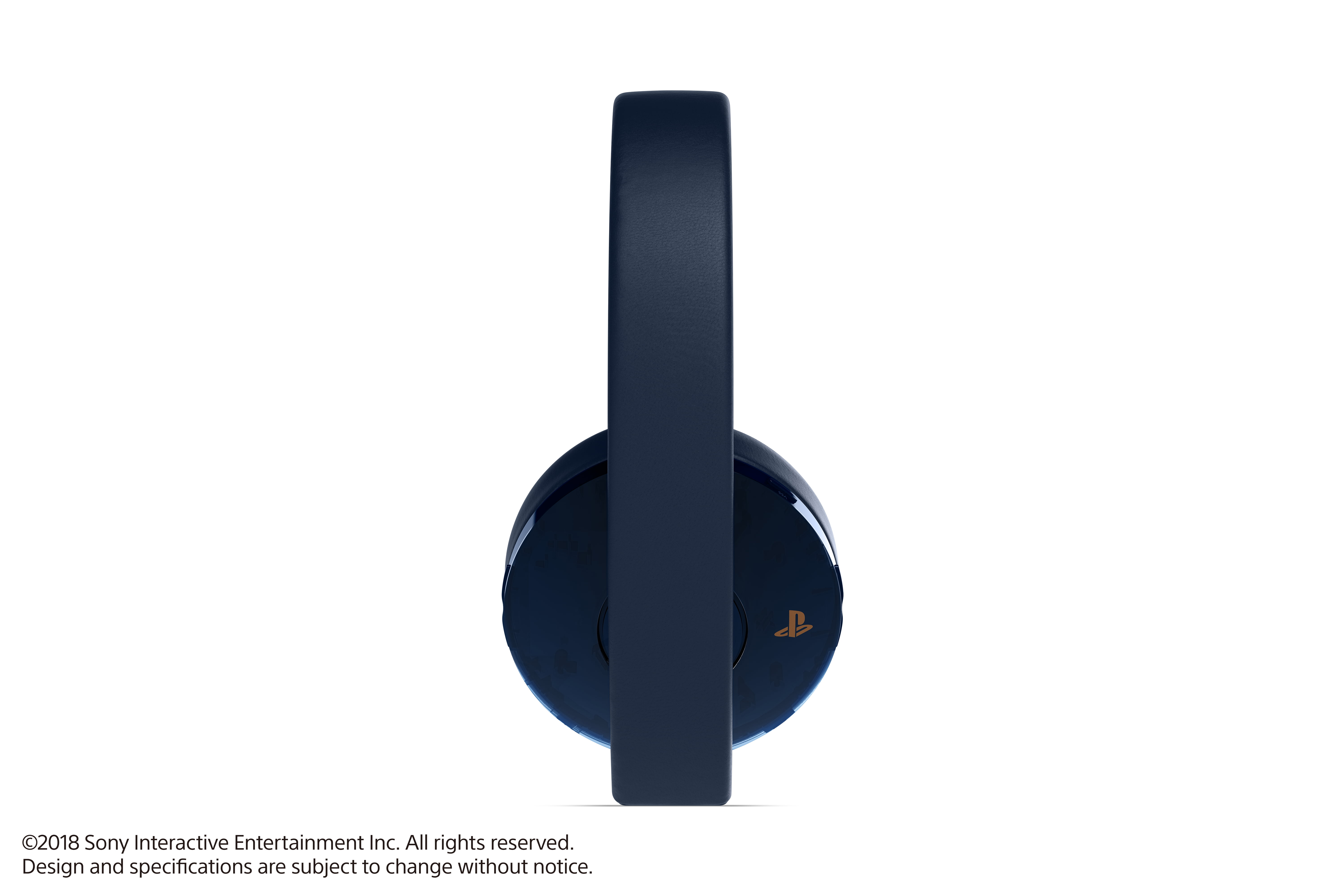 Sony PlayStation 4, Gold Wireless Headset, Translucent, 3003337 by Sony