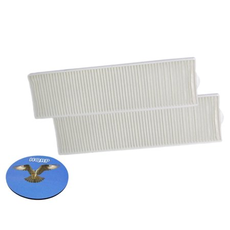 HQRP 2-pack Washable Post Motor Filters for Bissell 82G71 / 82G7 Momentum Vacuum plus HQRP Coaster