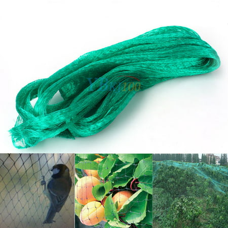 Yosoo Green Anti Bird Protection Net Mesh Garden Plant Netting Protect Plants and Fruit Trees from Rodents Birds Deer Best for Seedlings,Vegetables,Flowers, Fruits,Bushes,Reusable