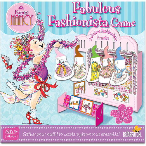 Briar Patch Fancy Nancy Fabulous Fashionista Game