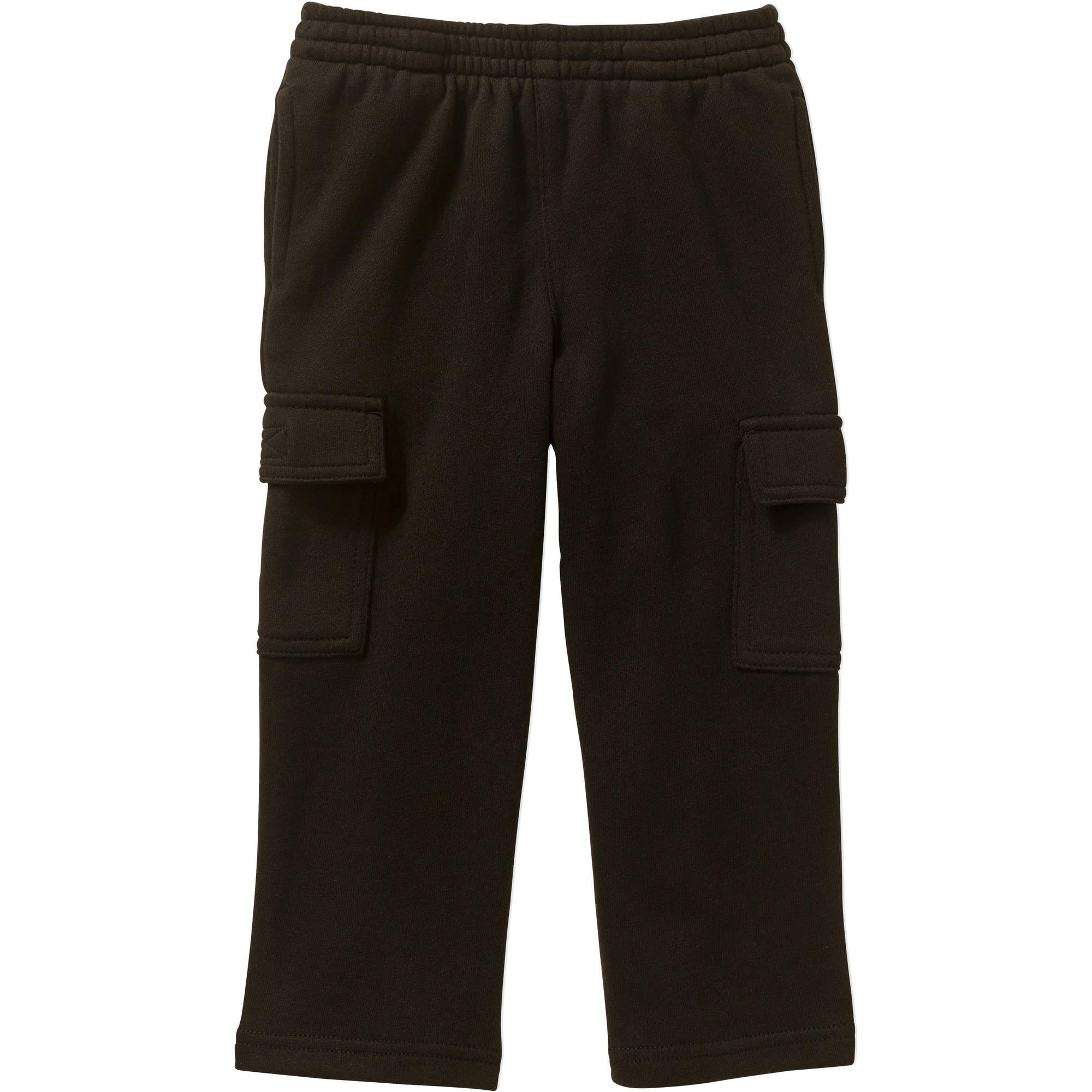 Healthtex Toddler Boys' Fleece Cargo Pants