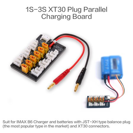 1-3S XT30 Plug Lipo Battery Parallel Charging Board for IMAX B6