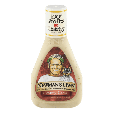 (2 Pack) Newman's Own Creamy Caesar Dressing, 16