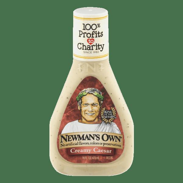 (2 Pack) Newman's Own Creamy Caesar Dressing, 16 Oz