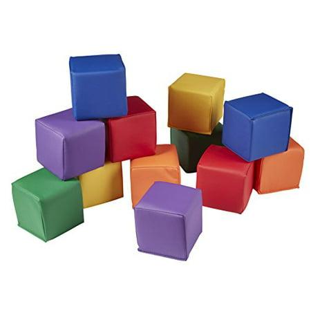 ECR4KIDS Soft Toddler Blocks - Primary