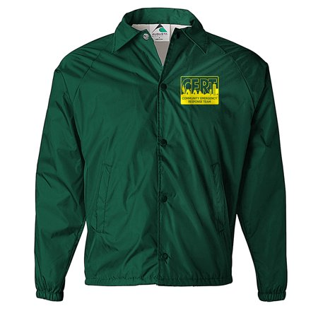 CERT Jacket Windbreaker, Community Emergency Response Team Jacket