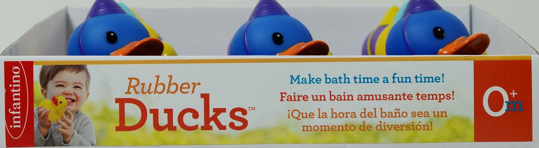 Infantino Happy Birthday Rubber Ducks, 3 Pack - Walmart.com