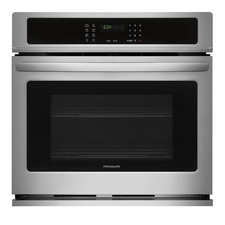 "Frigidaire FFEW3026TS 30"" Star K Certified Single Wall Oven with 4.6 cu. ft. Capacity, 2 Oven Racks, Keep Warm Setting, ADA Compliant, and Vari Broil Option, in Stainless Steel"
