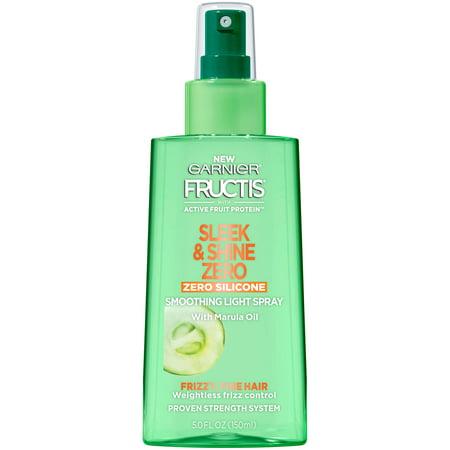 Shine Spray - Garnier Fructis Sleek & Shine Zero Smoothing Light Spray 5 FL OZ