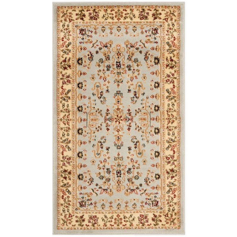 Safavieh Lyndhurst 6' X 9' Power Loomed Rug in Gray and Beige - image 9 of 9