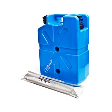 Lifesaver Systems 10000Uf Jerrycan Now And Then Water Filtration Kit