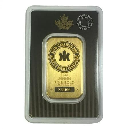 Royal Canadian Mint 1 oz Gold Bar - Sealed in Assay