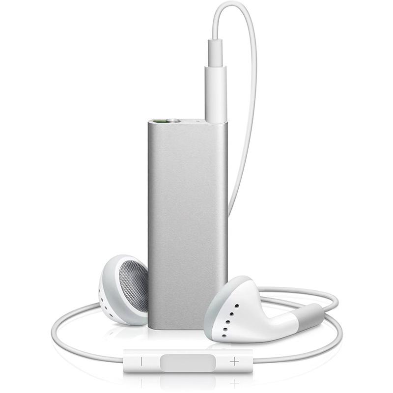 Refurbished Apple iPod Shuffle 3rd Generation 4GB Silver MB867LL/A