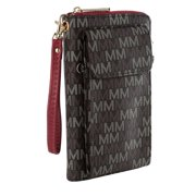 MKF Collection by Mia K. Romana 2 in 1 Wallet and Crossbody Bag