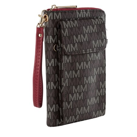 MKF Collection Romana 2 in 1 Wallet and Crossbody Bag by Mia K. (And 1 Wallet)