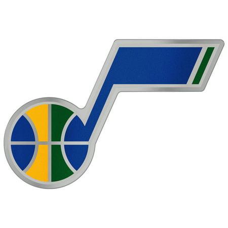 "Utah Jazz WinCraft 5"" x 2.5"" Auto Emblem Decal - No Size"
