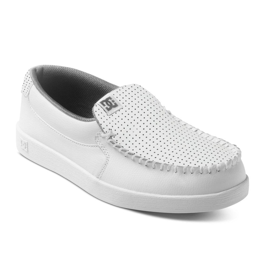 Villain Slip On White Casual Loafers