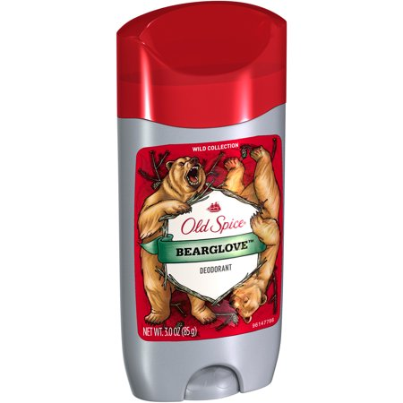 Old Spice Wild Collection Bearglove Mens Deodorant  3 Oz