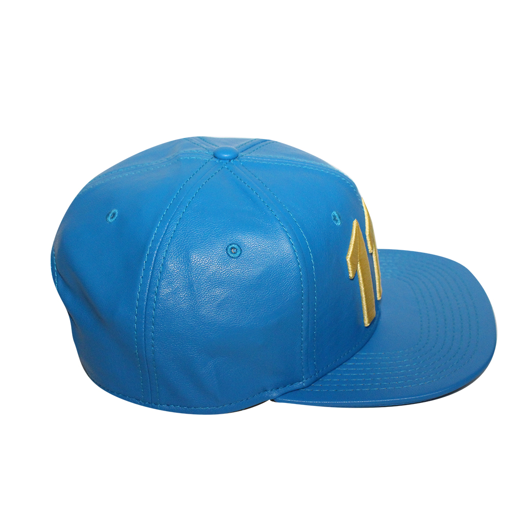 """Bioworld Blue Licensed Fallout """"111"""" PU Leather Snapback Hat - image 2 of 6"""