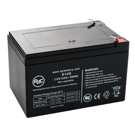 Golden Technologies Buzzaround Xl 3 Wheel Gb116 12V 12Ah Battery   This Is An Ajc Brand  174  Replacement