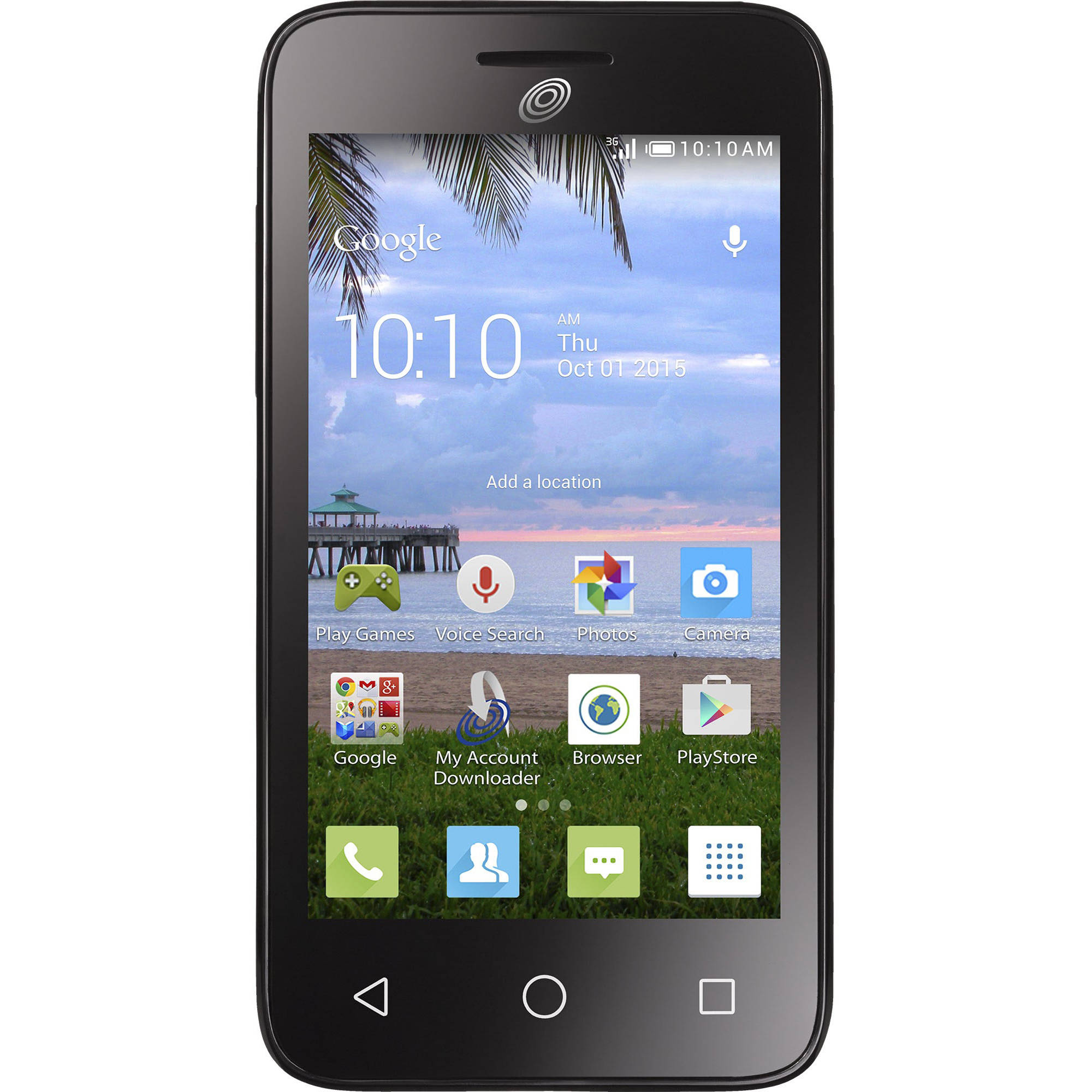 Total Wireless Alcatel OneTouch Pixi Eclipse Prepaid Smartphone