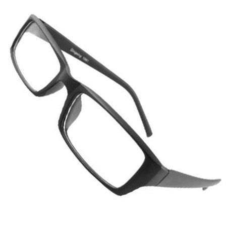 NERD Smart Black FAKE Glasses rectangle fashion Men And Women (Justice Fake Glasses)