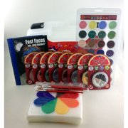 Ruby Red Paints PROKITB Pro-Kit B Face Paint - 14 x 11 x 3.5 in.