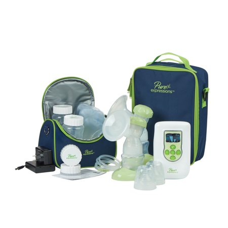 1066 Dual Channel - Drive Medical Pure Expressions Deluxe Dual Channel Electric Breast Pump