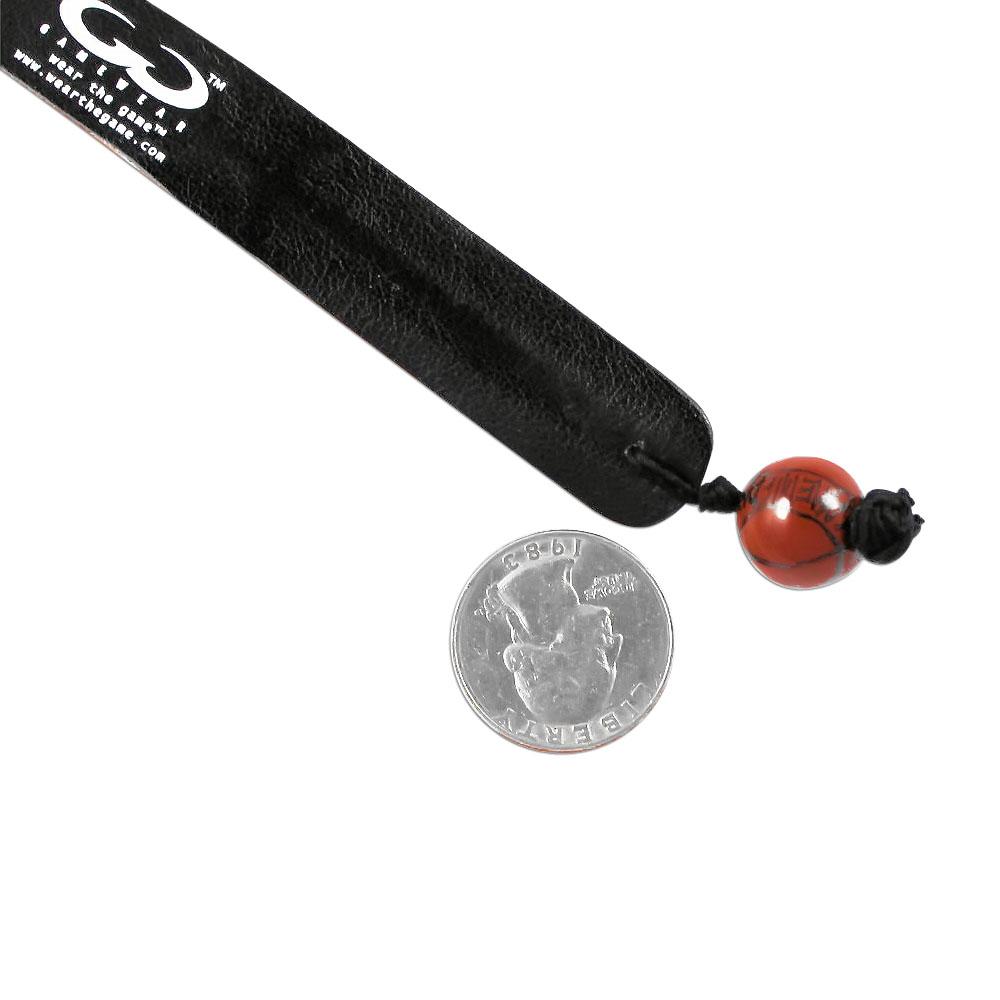 NBA LOS Angeles Clippers Team Color Gamewear Leather Basketball Bracelet - image 5 de 5