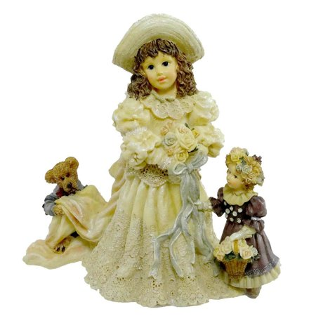 Boyds Bears Emily with Kathleen and Otis - The Future, Introduced In 1996 By Yesterdays Child The Dollstone Collection