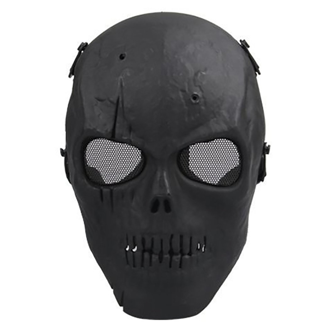 Outgeek Mens Full Face Mask Skull Skeleton Tactical Accessories for Airsoft Paintball by Outgeek