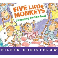 5 Little Monkeys Jumping on the Bed (Board Book)