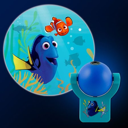 Disney Pixar Finding Dory Led Projectables Plugin Night Light   An Image Of Nemo   Dory Project Out Of Night Light