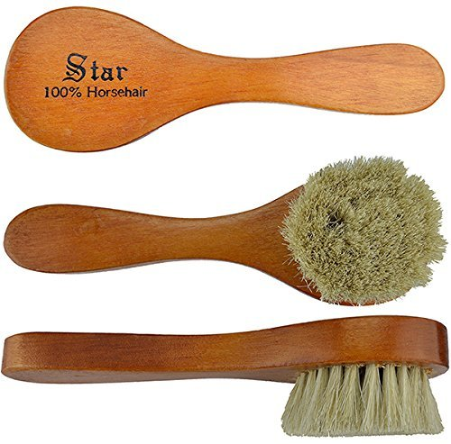"6"" Horsehair Dauber Polish Silver, Great little brush is a must have for shoe shining By Star"
