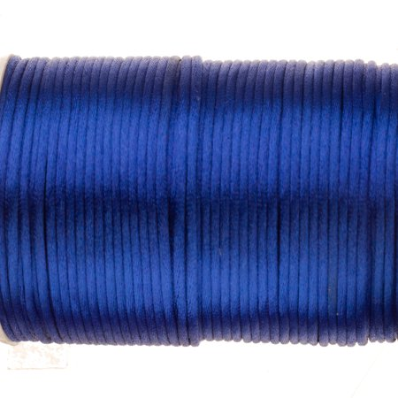 Soutache Cord - Royal Blue Soutache Woven Round Cord Wax Treated Soft Drape 2mm