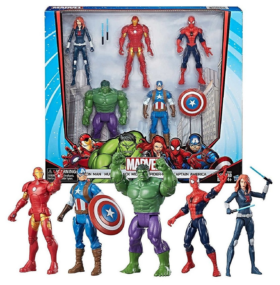"""Marvel Avengers 5-Pack Action Figures 6"""" by MARVEL"""