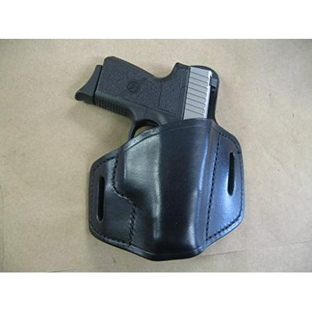 Kel Tec PF9 P11 Leather 2 Slot Molded Pancake Belt Holster -