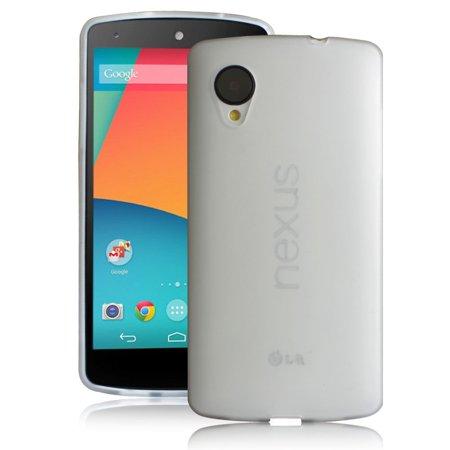 official photos 43235 c608e LivEditor For LG Google Nexus 5 Ultra Thin Soft Flexible Case  Anti-Fingerprint Cover Films