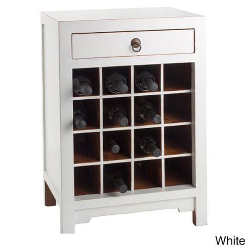 Antique Revival Chauvet Wine Cabinet Orange by Antique Revival