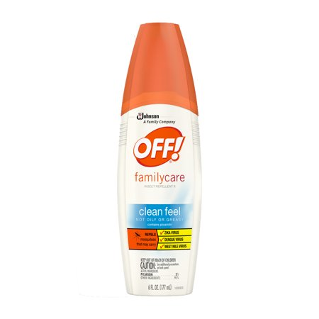 OFF! FamilyCare Insect Repellent II, Clean Feel, 6 Ounces, 1 (Cutter Insect Repellant)