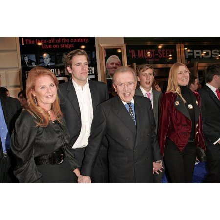 Cabrina Collection (Sarah Ferguson Sir David Frost Lady Carina Frost At Arrivals For FrostNixon Opening Night On Broadway Bernard B Jacobs Theater New York Ny April 22 2007 Photo By Steve MackEverett Collection Celebrity)