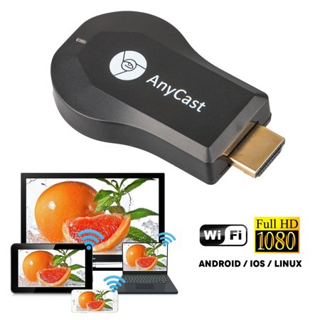 EEEKit WiFi Display Dongle Receiver, 1080P Full HD HDMI TV Stick AnyCast  DLNA Wireless Airplay Dongle